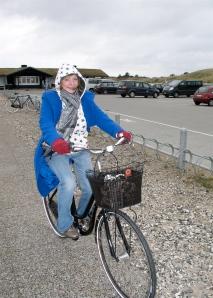 H on bike